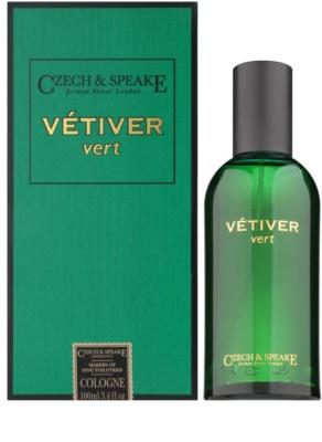 Czech & Speake Vetiver Vert kolínská voda unisex