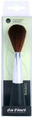 da Vinci Basic ovalni čopič za puder samostojno stoječ 1