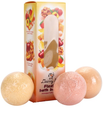 Dairy Fun Bath Bombs coffret I. 1