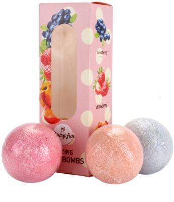Dairy Fun Bath Bombs Kosmetik-Set  II. 1