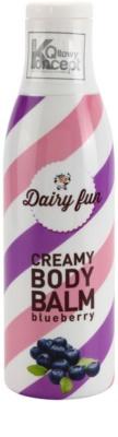 Dairy Fun Blueberry telové mlieko