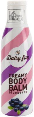 Dairy Fun Blueberry молочко для тіла
