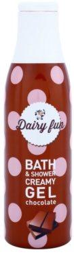 Dairy Fun Chocolate cremiges Duschgel und Gel zum Baden