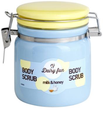 Dairy Fun Milk & Honey telový peeling