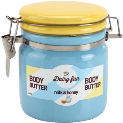 Dairy Fun Milk & Honey manteiga corporal