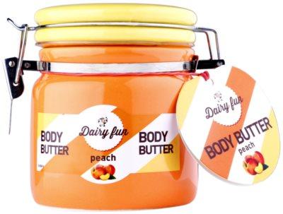 Dairy Fun Peach Körperbutter