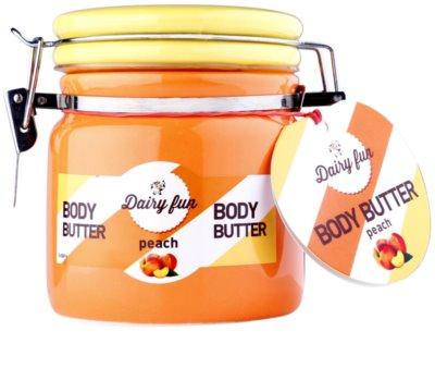Dairy Fun Peach tělové máslo