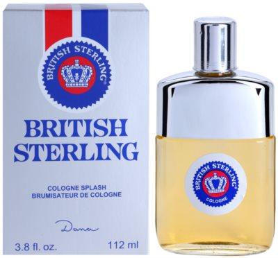 Dana British Sterling Eau de Cologne para homens  sem vaporizador