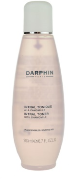 Darphin Intral тоник за почистване на грим за чувствителна кожа на лицето