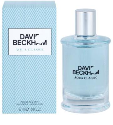 David Beckham Aqua Classic eau de toilette férfiaknak
