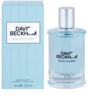 David Beckham Aqua Classic Eau de Toilette pentru barbati