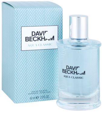 David Beckham Aqua Classic Eau de Toilette para homens 1