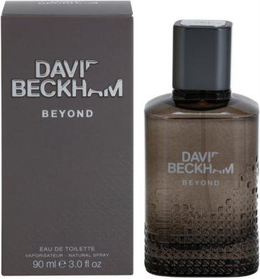David Beckham Beyond eau de toilette férfiaknak