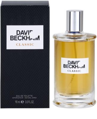 David Beckham Classic Eau de Toilette para homens