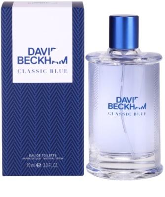 David Beckham Classic Blue eau de toilette para hombre