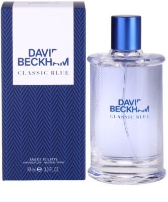 David Beckham Classic Blue toaletna voda za moške