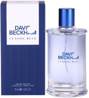 David Beckham Classic Blue toaletní voda pro muže