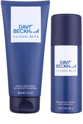 David Beckham Classic Blue Gift Set 1