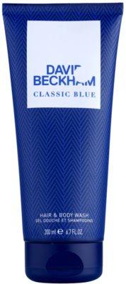 David Beckham Classic Blue gel de dus pentru barbati