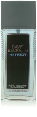 David Beckham The Essence deodorant s rozprašovačem pro muže