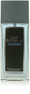 David Beckham The Essence desodorizante vaporizador para homens