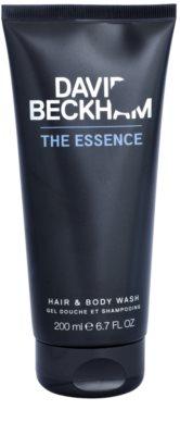 David Beckham The Essence душ гел за мъже