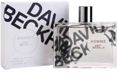 David Beckham Homme toaletní voda pro muže 2