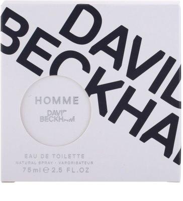 David Beckham Homme toaletní voda pro muže 5