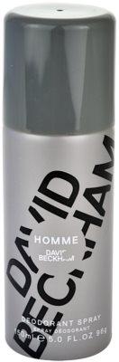 David Beckham Homme desodorante en spray para hombre