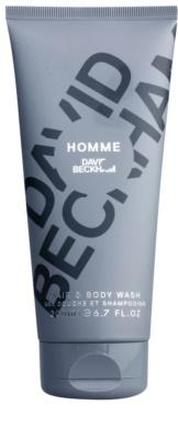 David Beckham Homme Duschgel für Herren