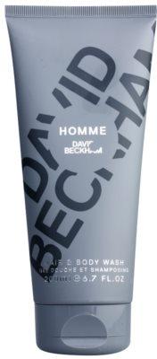 David Beckham Homme gel za prhanje za moške