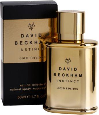 David Beckham Instinct Gold Edition туалетна вода для чоловіків 1
