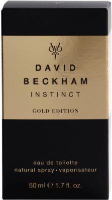 David Beckham Instinct Gold Edition туалетна вода для чоловіків 4