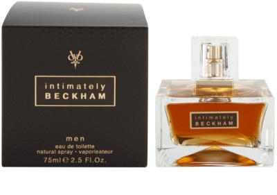David Beckham Intimately Men eau de toilette férfiaknak