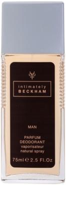 David Beckham Intimately Men deodorant s rozprašovačem pro muže