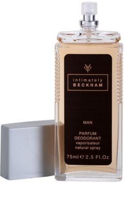 David Beckham Intimately Men дезодорант з пульверизатором для чоловіків 1