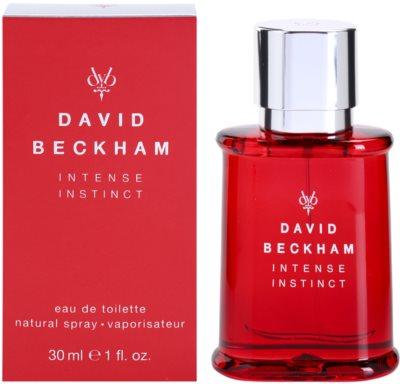 David Beckham Intense Instinct eau de toilette férfiaknak