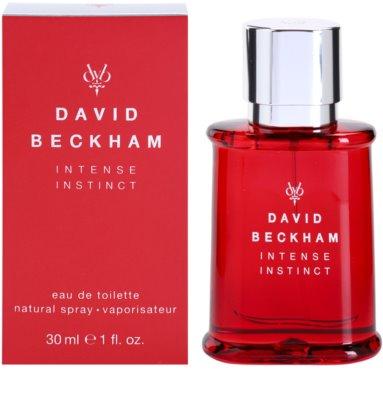 David Beckham Intense Instinct toaletna voda za moške