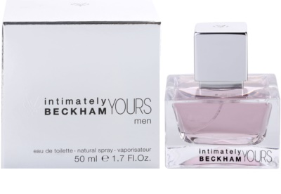 David Beckham Intimately Yours Men eau de toilette férfiaknak