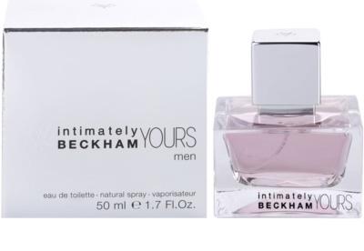 David Beckham Intimately Yours Men Eau de Toilette pentru barbati