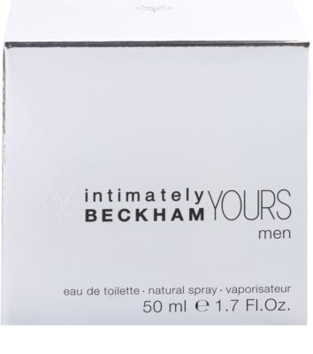 David Beckham Intimately Yours Men Eau de Toilette für Herren 4