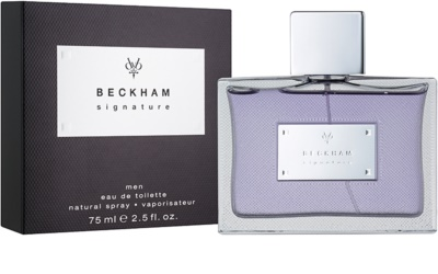 David Beckham Signature for Him Eau de Toilette für Herren 1