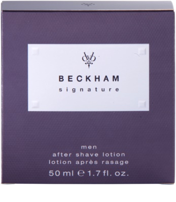 David Beckham Signature for Him after shave para homens 3