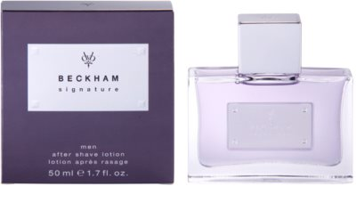 David Beckham Signature for Him after shave para homens