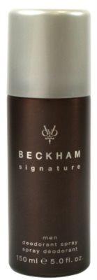 David Beckham Signature for Him deo sprej za moške