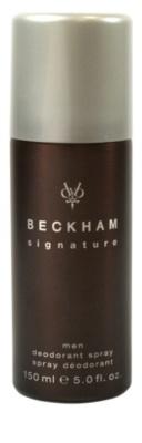 David Beckham Signature for Him deodorant Spray para homens