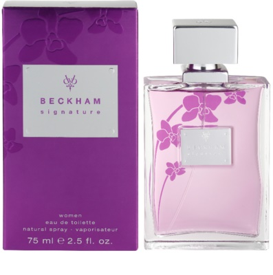 David Beckham Signature for Her Eau de Toilette für Damen