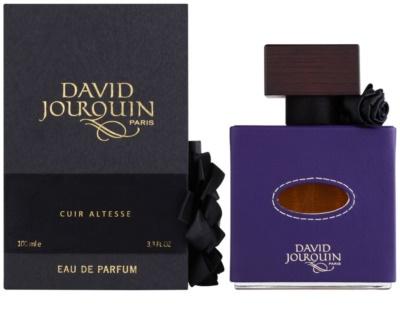 David Jourquin Cuir Altesse Eau de Parfum für Damen