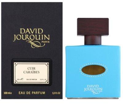 David Jourquin Cuir Caraibes eau de parfum unisex