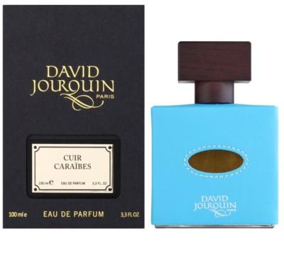 David Jourquin Cuir Caraibes woda perfumowana unisex